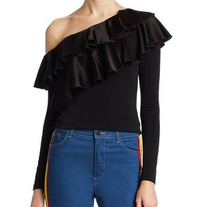 Alice and Olivia Izzy top